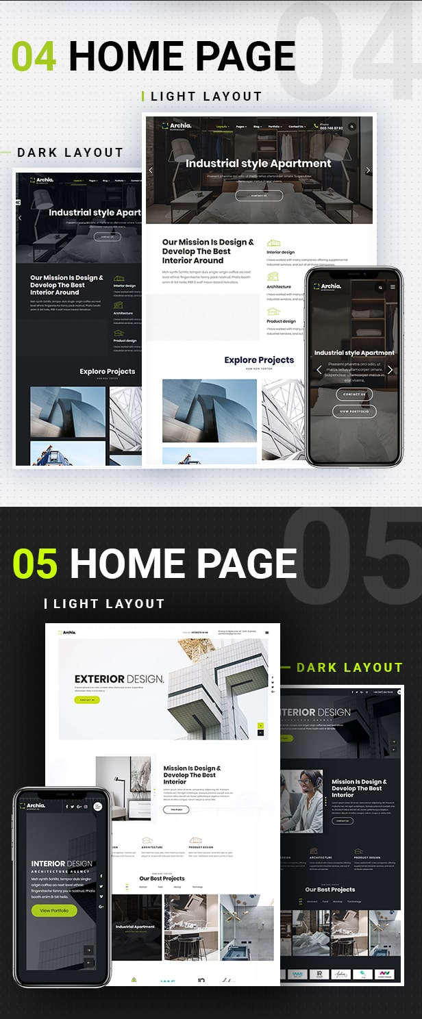 Archia - Architecture and Interior Design RTL Ready Template - 4
