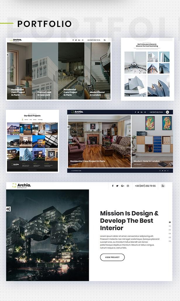 Archia - Architecture and Interior Design RTL Ready Template - 5