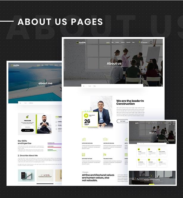 Archia - Architecture and Interior Design RTL Ready Template - 6