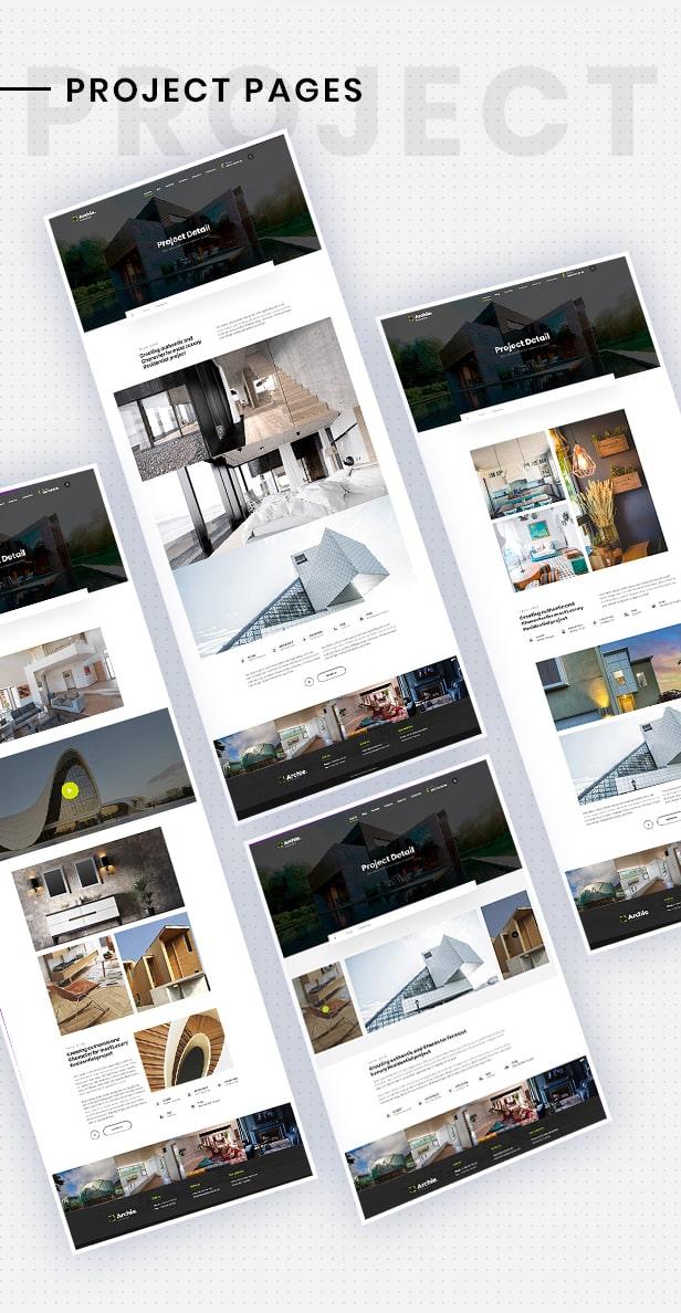 Archia - Architecture and Interior Design RTL Ready Template - 7