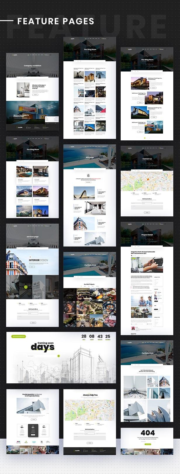 Archia - Architecture and Interior Design RTL Ready Template - 8