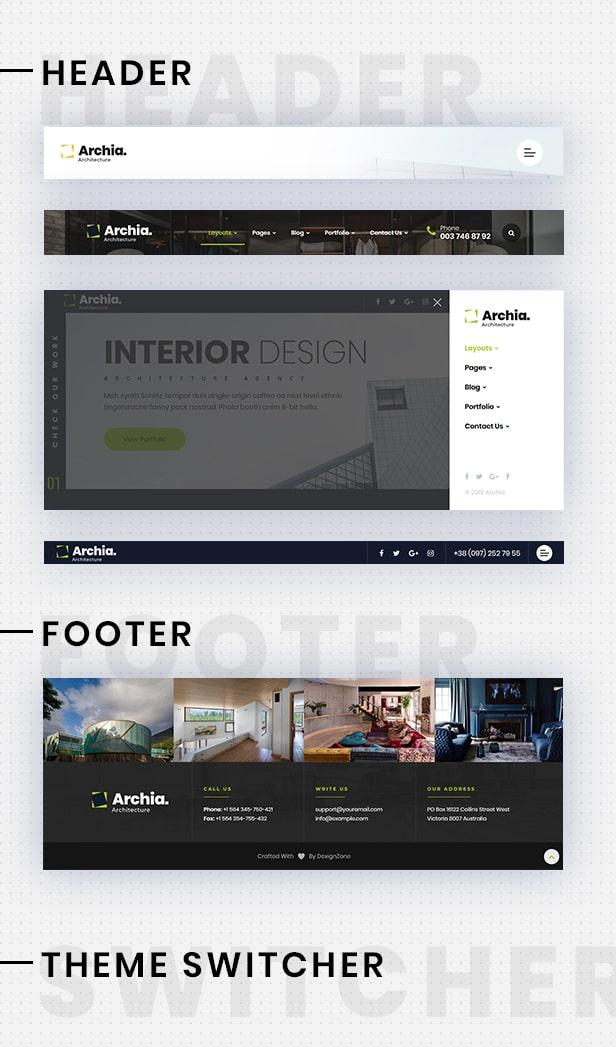 Archia - Architecture and Interior Design RTL Ready Template - 10